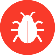 treating bed bugs icon